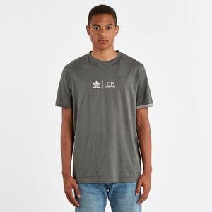 Adidas and C.P. Company Collaboration T-Shirt Gray